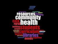 wordcloud produced from the abstract of the grant